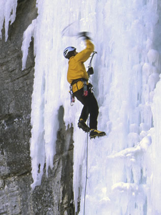 Climber in Provo Canyon