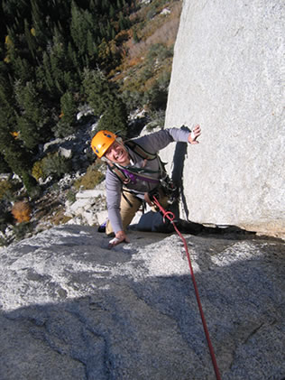 Multi-Pitch Rock Climbing Clinic