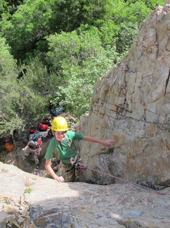 Youth Rock Climbing Camp
