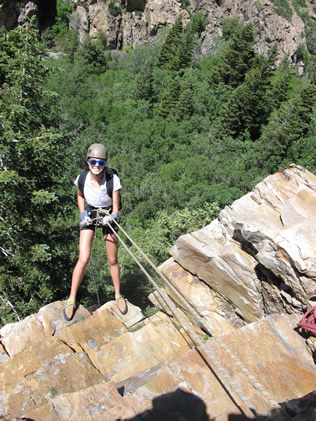 Tween Rock Climbing Camp